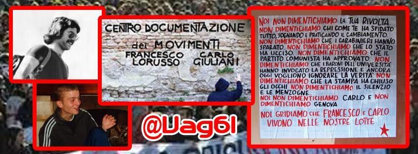 """Centro di documentazione dei movimenti """"Francesco Lorusso – Carlo Giuliani"""""""